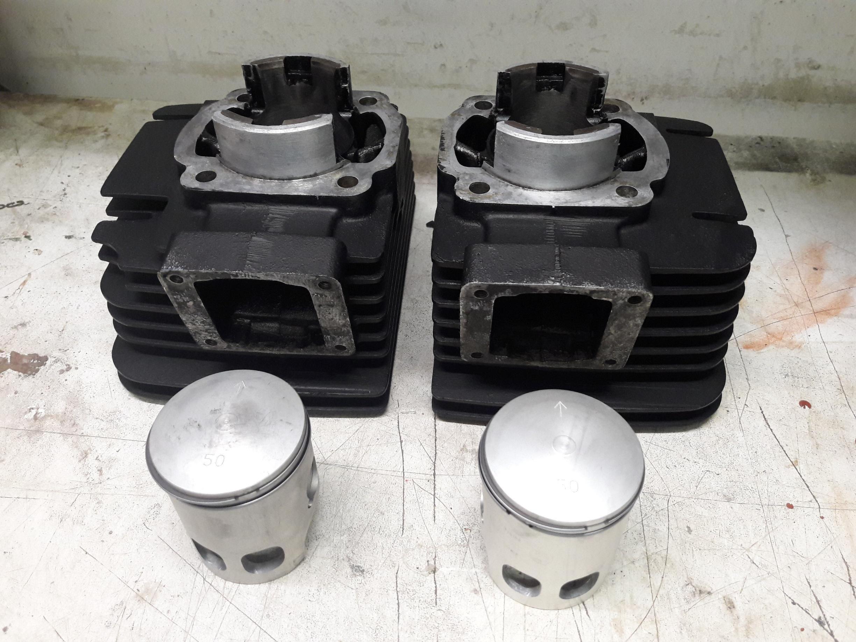 Yamaha RD250 Zylinder + Kolben