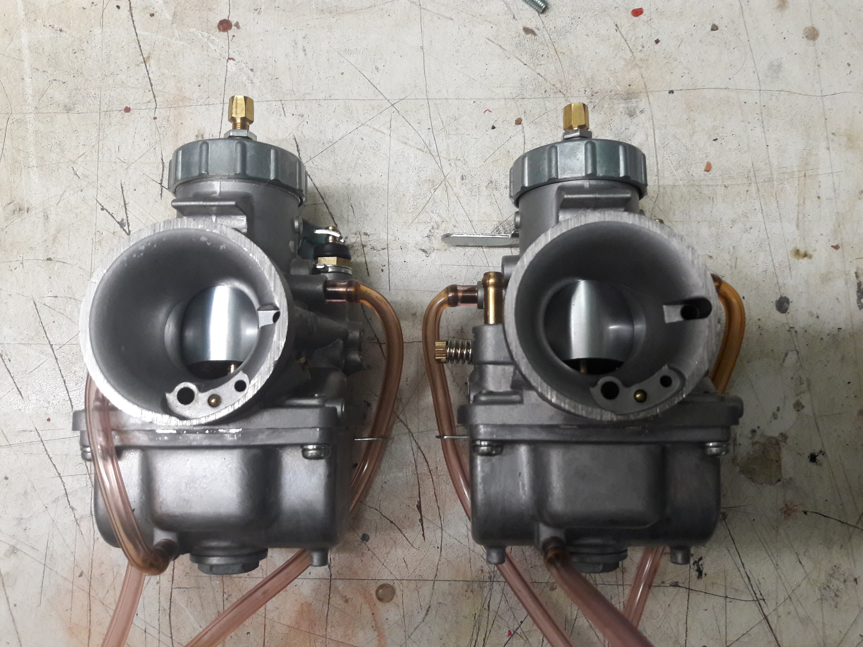 Mikuni VM30 Rennvergaser