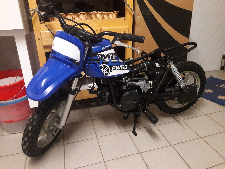 Yamaha PW50 Neuaufbau